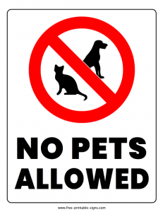 no-pets-allowed-sign